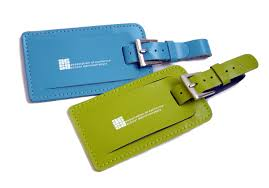 leather luggage tag business travel