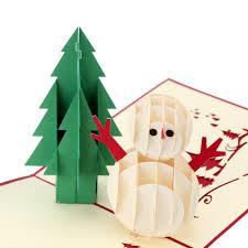 online shop 3d handmade folding christmas card pop up kirigami