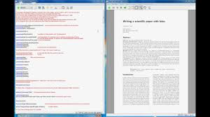 how to write paper abstract latex bibtex how to write a scientific paper example youtube