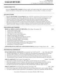 resume sample dance entry level medical assistant cover skills for