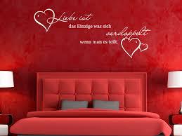 Schlafzimmer Wandtattoo Wandsprüche Schlafzimmer Fern On Ideen Mit Wandtattoo Liebe S Xxl