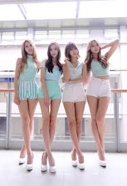 kb is this rookie group the skinniest female group in k pop