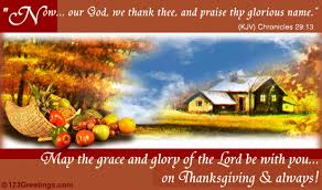 on thanksgiving and always free prayers ecards greeting cards