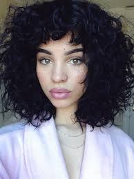 hairstyles fir bangs too short best 25 curly bob bangs ideas on pinterest short wavy hair