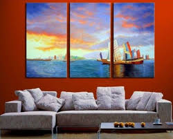 decor painting due to the fact that oil paintings look great on any location where