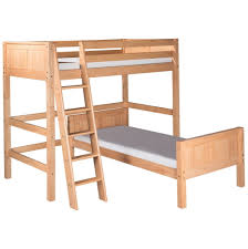 L Shaped Beds Bunk Bed With Workstation Deondre Lshaped Bunk Bed - L shaped bunk beds twin over full