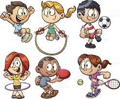 cartoon kids playing stock vector art 181407589 istock