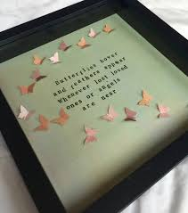 Sympathy Gifts Butterfly Quote Memorial Sympathy Gift Frame Lost By Waystosay
