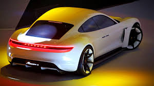 porsche electric porsche mission e electric concept car la times