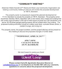 west loop community organization chicago il development