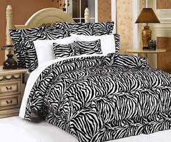 Zebra Print Room Decor Zebra Prints And Decoration Patterns Personalizing Modern Bedroom