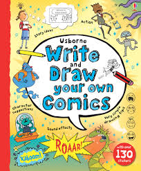 write and draw your own comics u201d at usborne children u0027s books