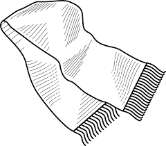 coloring pages of winter scarf archives mente beta most complete