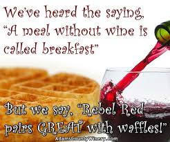 Funny Breakfast Memes - wine for breakfast rise and shine and wine