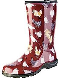 womens rubber boots size 9 womens footwear amazon com