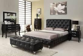 schwarzes schlafzimmer chestha boxspringbett dekor schlafzimmer