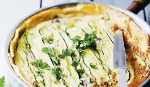 cuisiner courgettes poele recette tarte aux courgettes et au gorgonzola à la poêle l
