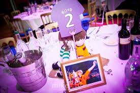 for the love of the game football inspired glasgow wedding at