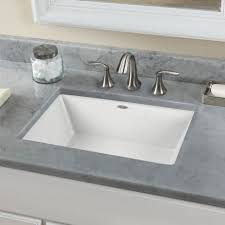 Ceramic Bathroom Fixtures Home Design Modern Rectangular Trough Sink With Cabinet