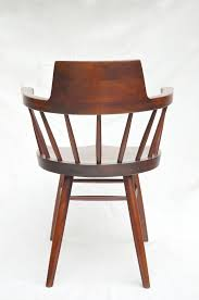 George Nakashima Furniture by George Nakashima Captain U0027s Chair From Ofleury On Ruby Lane