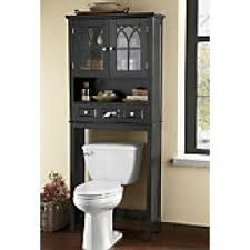 Bathroom Sink Toilet Cabinets Black Bathroom Space Saver Over Toilet Foter