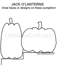 crafts halloween pumpkin doodle coloring page