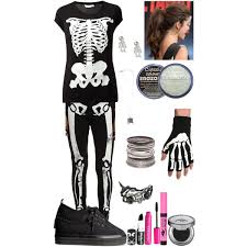 Halloween Costume Skeleton Diy Halloween Costume Skeleton Polyvore