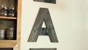 Letters Wall Decor Letters For Wall Decor Image