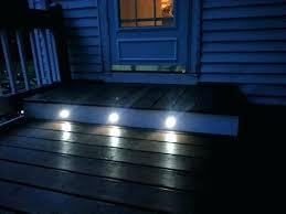 solar led deck step lights lighting steps cool led step lighting solar deck lights floor 1