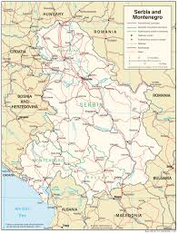 Europe Map Cities by Maps Of Serbia Detailed Map Of Serbia In English Tourist Map