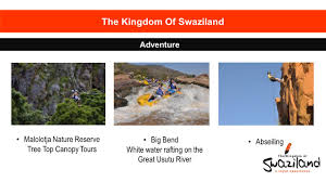 Treetop Canopy Tours by Presentation The Kingdom Of Swaziland Taking South Africa To