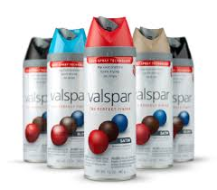 this valspar spray paint is amazing they have tons of colors at