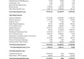 non profit balance sheet template and sample t letter template