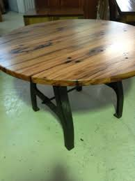Reclaimed Timber Dining Table Round Timber Dining Table Modern Home Design
