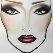 makeup face charts beauty facechart face beats to replicate