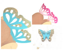 butterfly favor boxes make an glittering butterfly favor or hostess gift box for