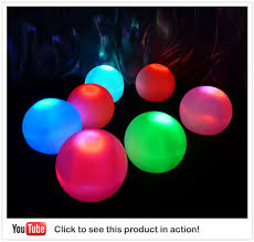 floating pool ball lights i bought these lighted pool lights for the river the kids the