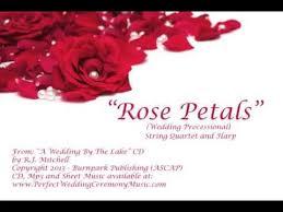 wedding ceremony processional petals wedding processional string quartet cd wedding