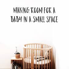 getting your small space or home ready for a new baby minimal
