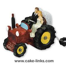 tractor cake topper tracctor wedding cake decoration cake links ltd