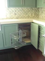 decorating contemporary blind corner cabinet make your kitchen