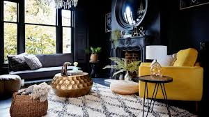 dark interior metallic interiors gold copper and brass blend beautifully with