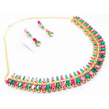color necklace images Multy color ad necklace set jpg