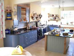blue kitchen cabinets ideas kitchen adorable blue kitchen walls with brown cabinets kitchen