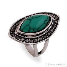 old rings silver images 2018 blue gemstone championship rings vintage turquoise gemstone jpg