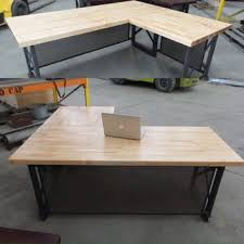Office Desk Store Executive Desk Modern Industrial L From Ironageoffice On Etsy