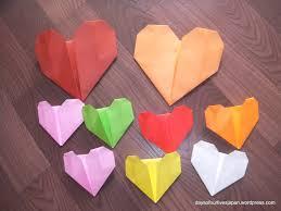 6 easy activities with valentine u0027s origami hearts for preschoolers