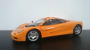 orange sports cars minichamps mclaren f1 papaya orange mclaren diecastxchange