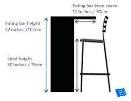bar stool bar stool height dining table bar stool height chart