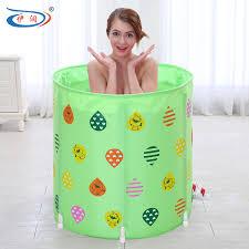 si e pour baignoire adulte size70 70 cm avec pompe épaississement pliant baignoire adultes